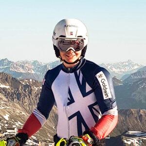 Laurie Taylor, Team GB Alpine Ski Racer